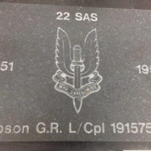 <strong>Sunderland</strong> National Veterans' Walk Engraved Stone